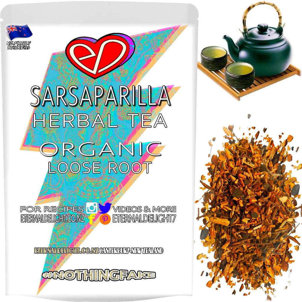 Sarsaparilla is Sweet Smelling and Gave Old Fashioned Root Beer its Full Flavour. A Raw Beauty and Organic Wellness Tea to Nourish Your Vitality Needs.