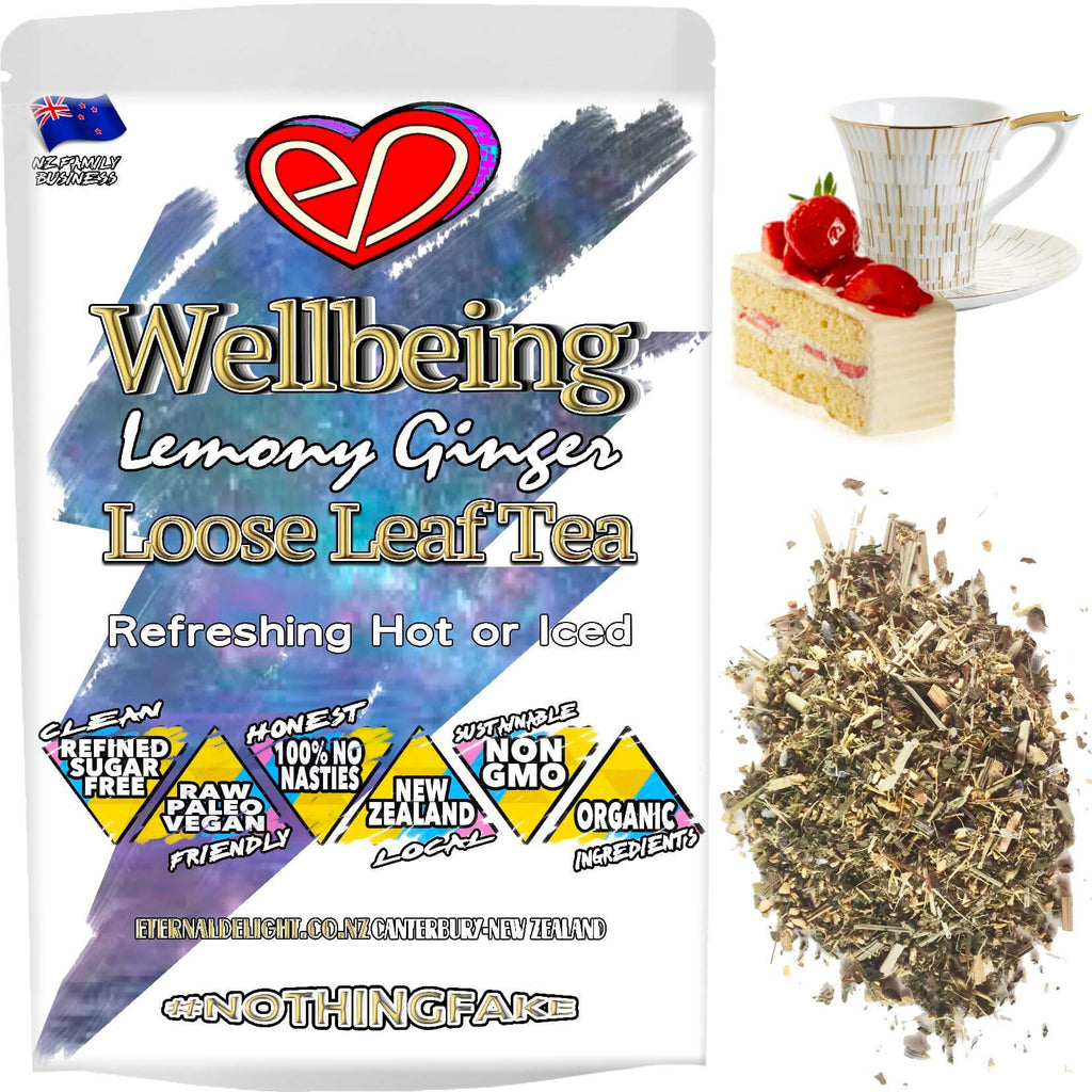 Our Refreshing and Holistic Herbal Wellbeing Tea is an Organically Soothing and Aromatic Relaxation Blend that can Be Enjoyed During the Day or at Night.