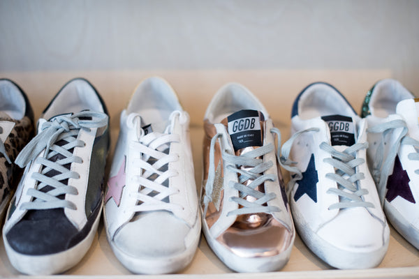 Are Those Old, Used Sneakers? No. They're Golden Goose.
