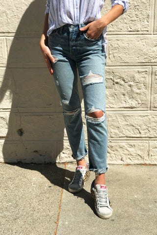 GRLFRND Denim Fit Guide
