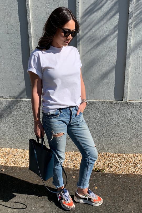 3 Ways to Wear a White Tee