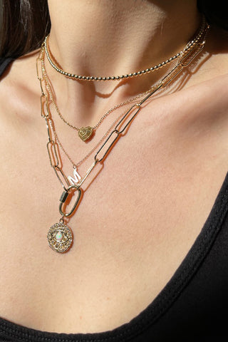 High Low Jewelry Layering