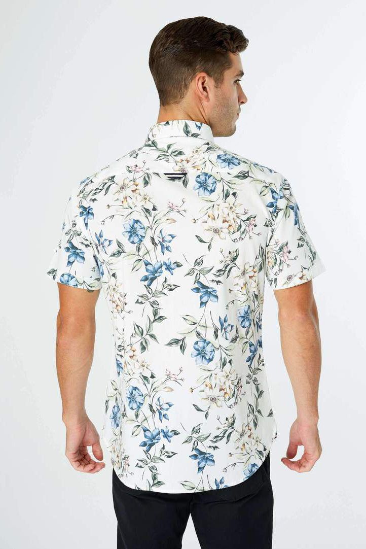 In The Jungle Camp Shirt - Natural White