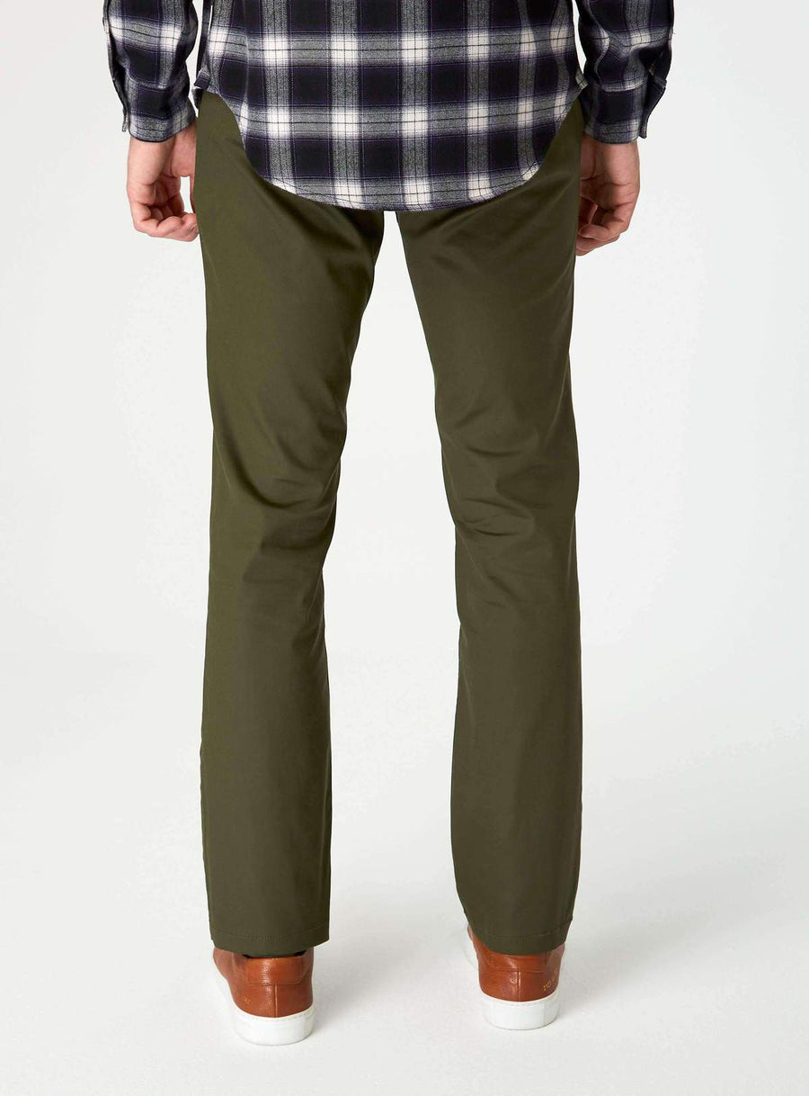 Parker Straight Fit Performance Chino - Palm - Pavilion