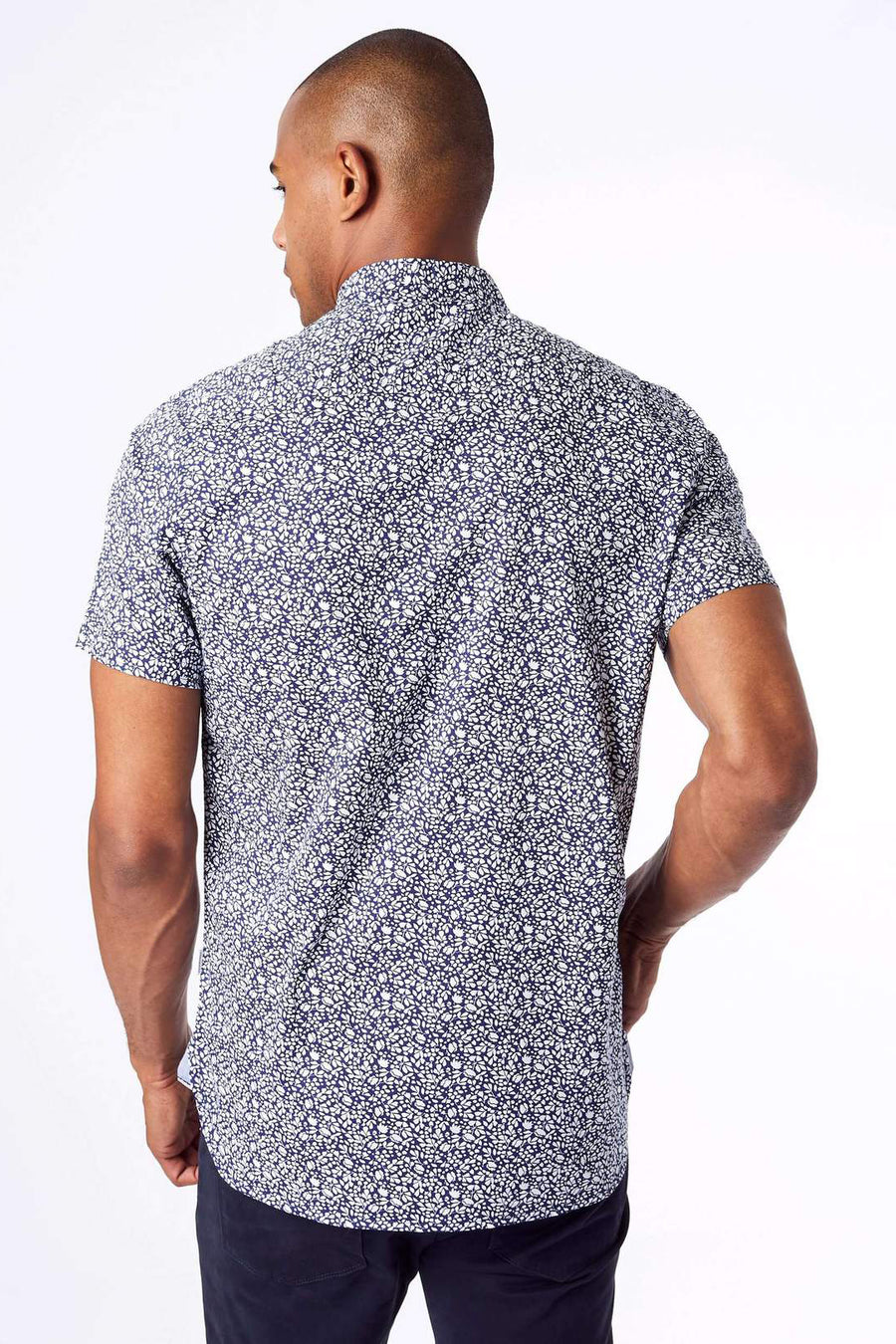 Renegade Parade Short Sleeve Shirt - Navy