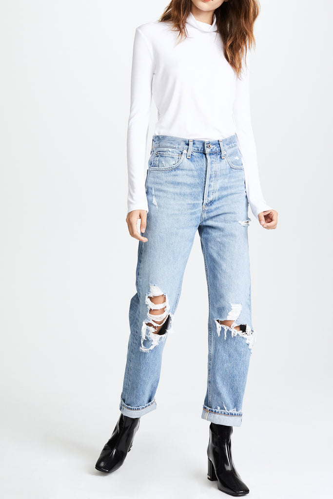 '90s Mid Rise Loose Fit Jeans - Fall Out - Pavilion