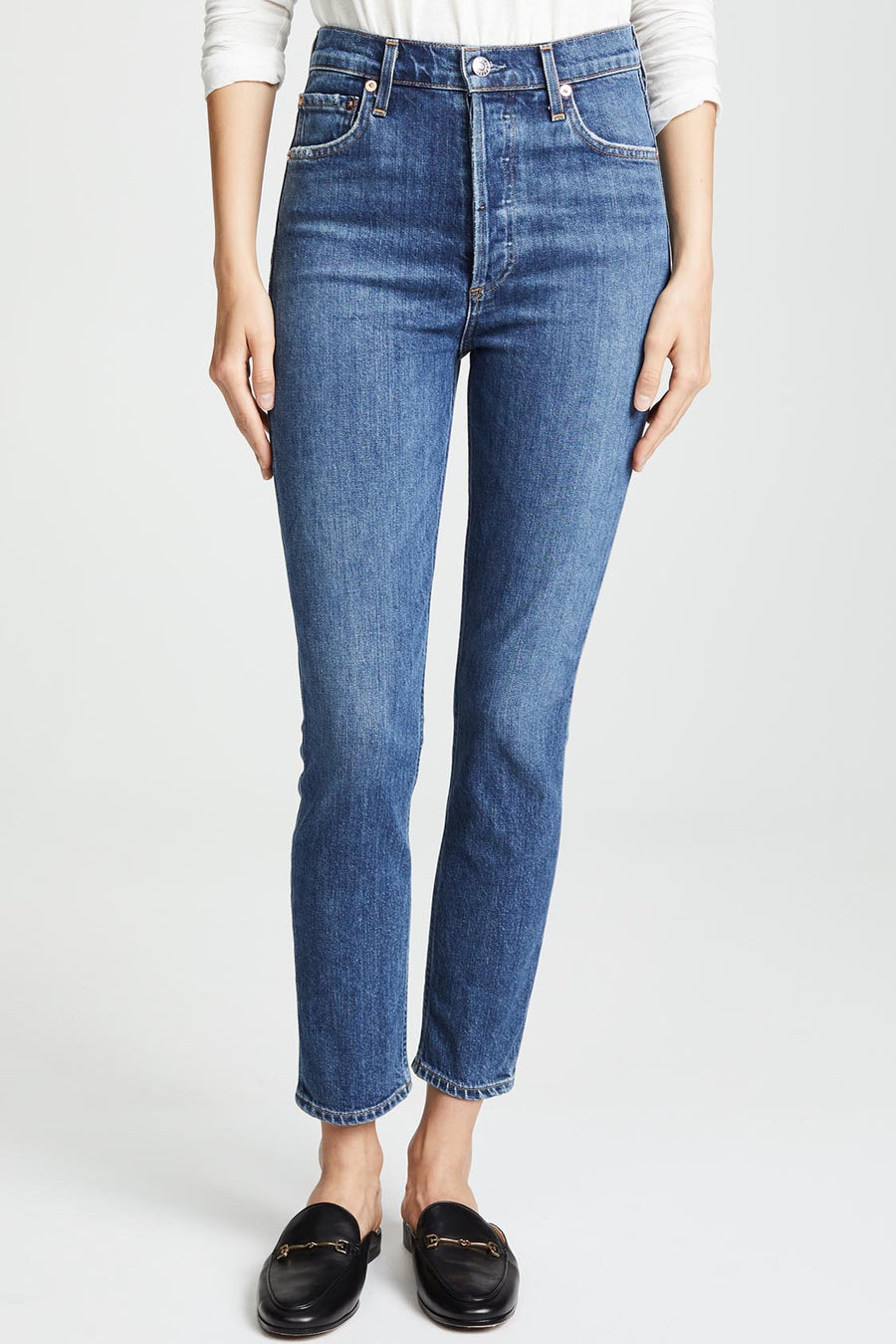 Nico High Rise Slim - Subdued