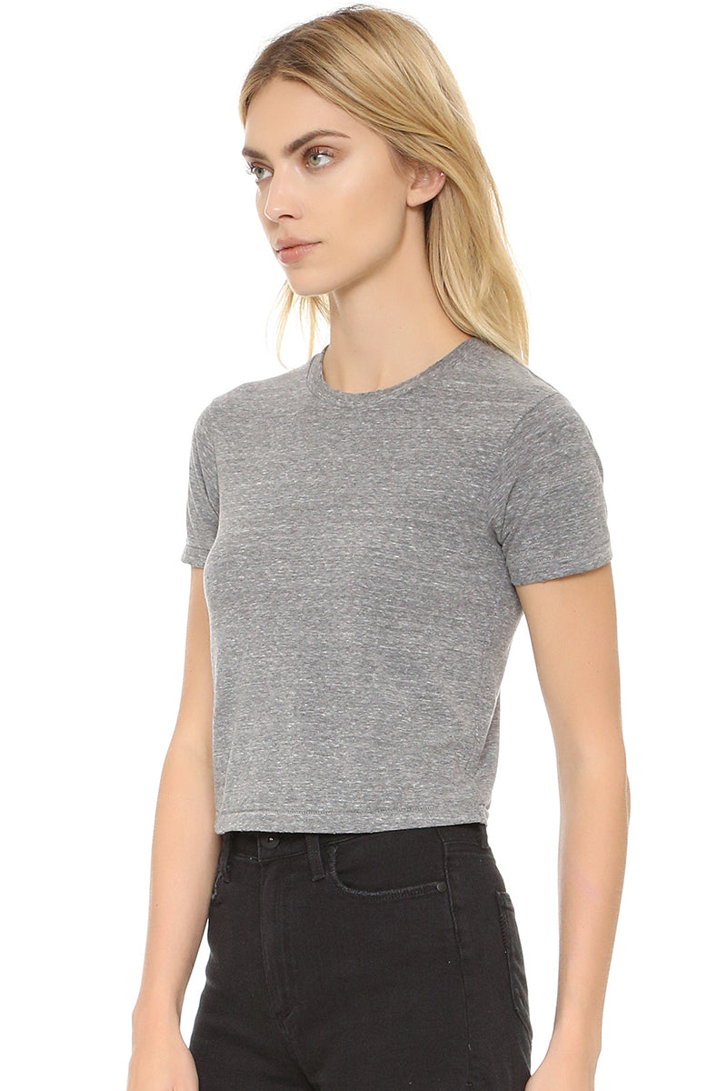 Babe Tee - Heather Grey