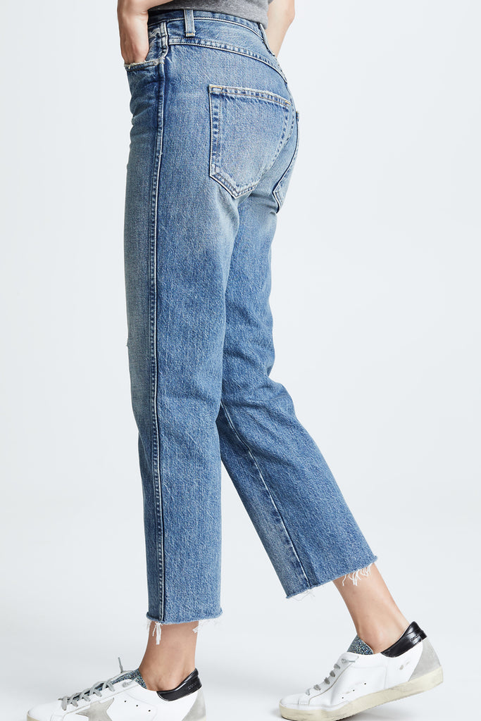 Loverboy High Rise Relaxed Straight - Darling