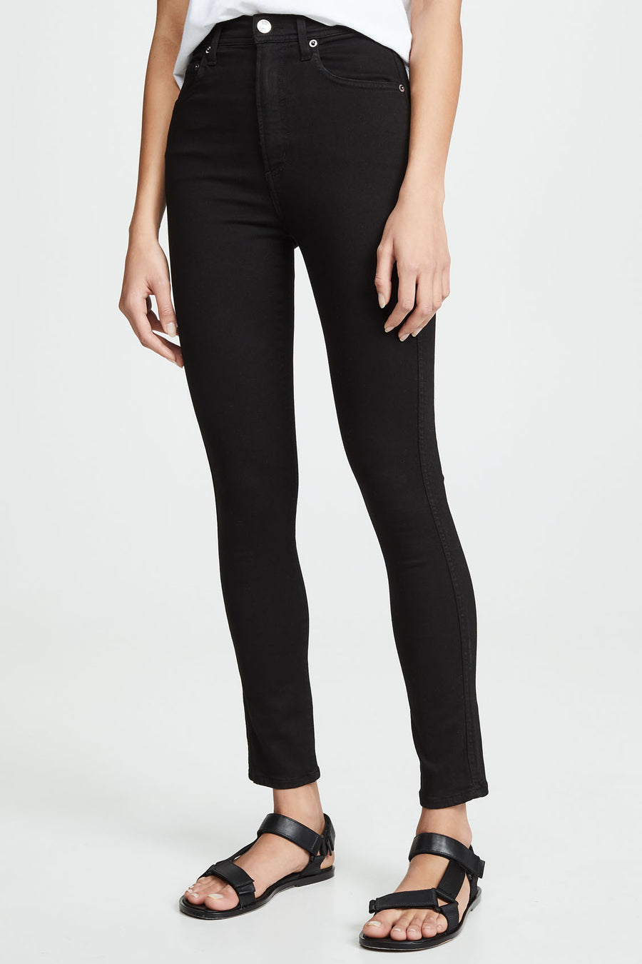 Roxanne Super High Rise Skinny - Jet