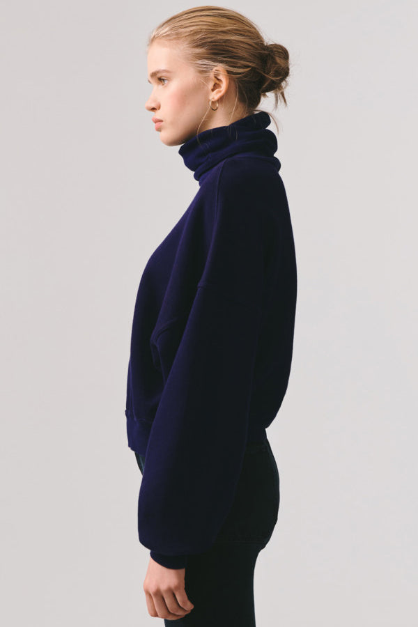 Balloon Sleeve Turtleneck - Arctic - Pavilion
