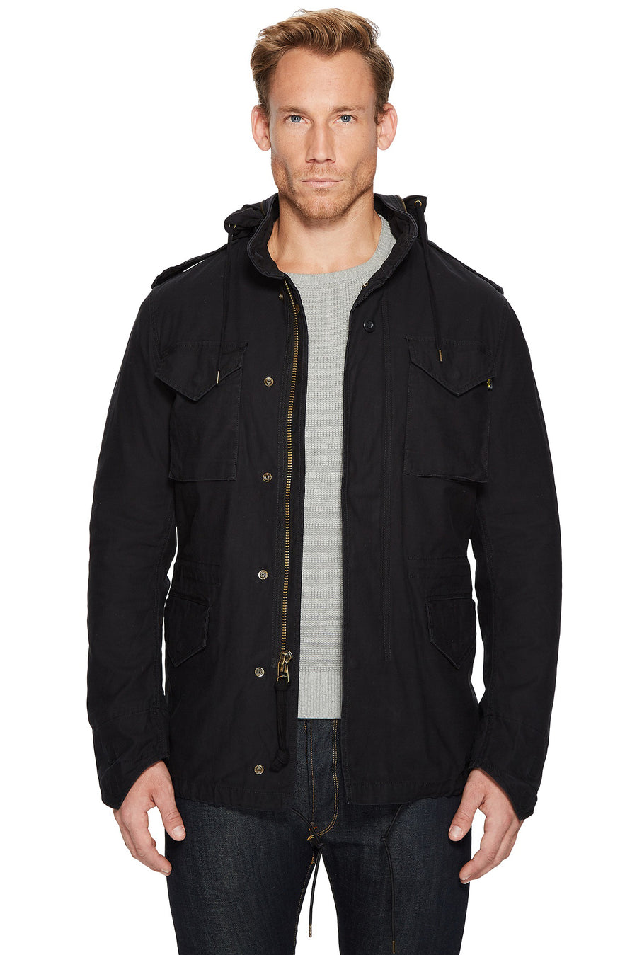 M-65 Defender Field Coat - Black - Pavilion