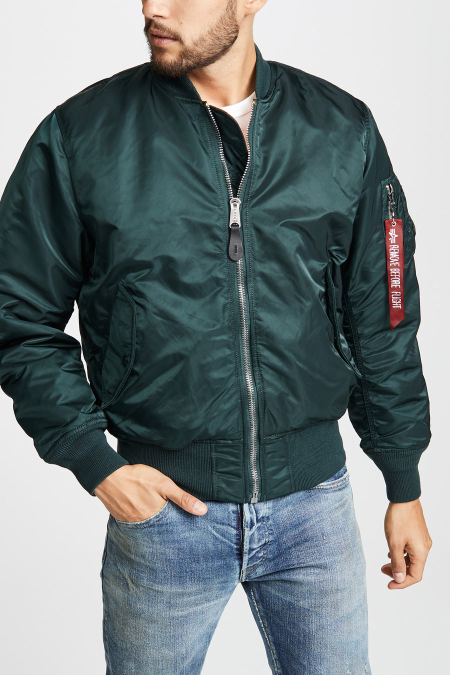 MA-1 Down Flight Jacket - Patrol Green - Pavilion