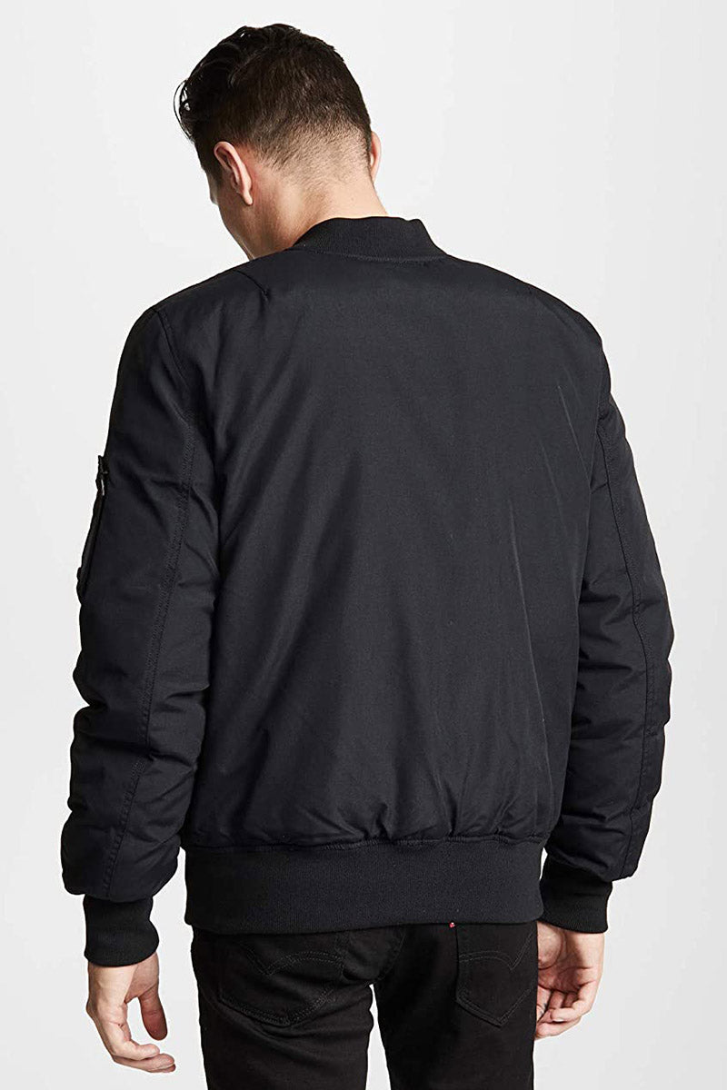 MA-1 Down Flight Jacket - Black