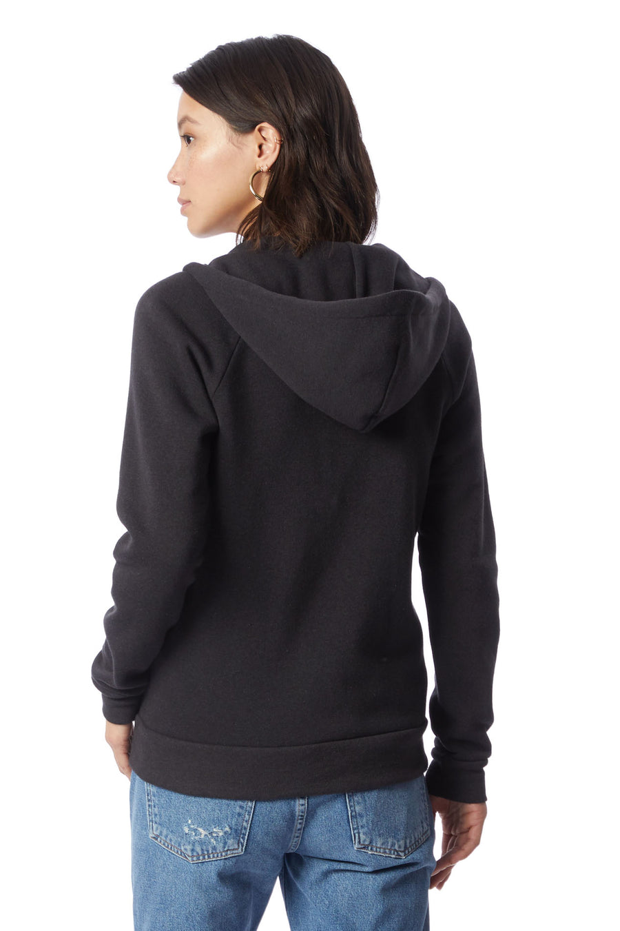 Adrian Eco Fleece Hoodie - Eco True Black - Pavilion
