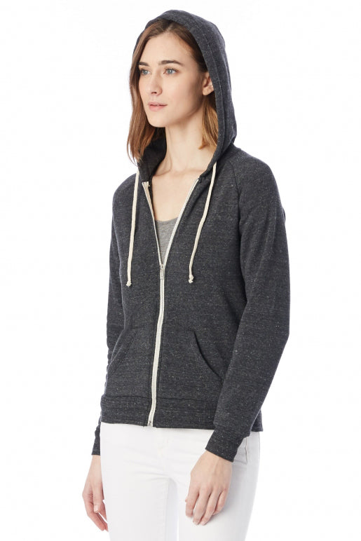 Adrian Eco Fleece Hoodie - Eco Black - Pavilion