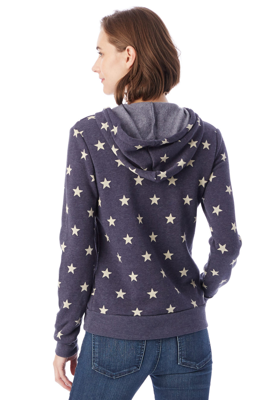 Athletics Eco-Fleece Hoodie - Navy Stars - Pavilion
