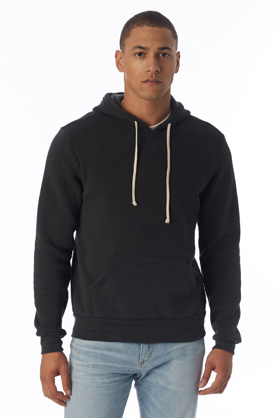 Challenger Eco-Fleece Pullover Hoodie - Eco True Black - Pavilion