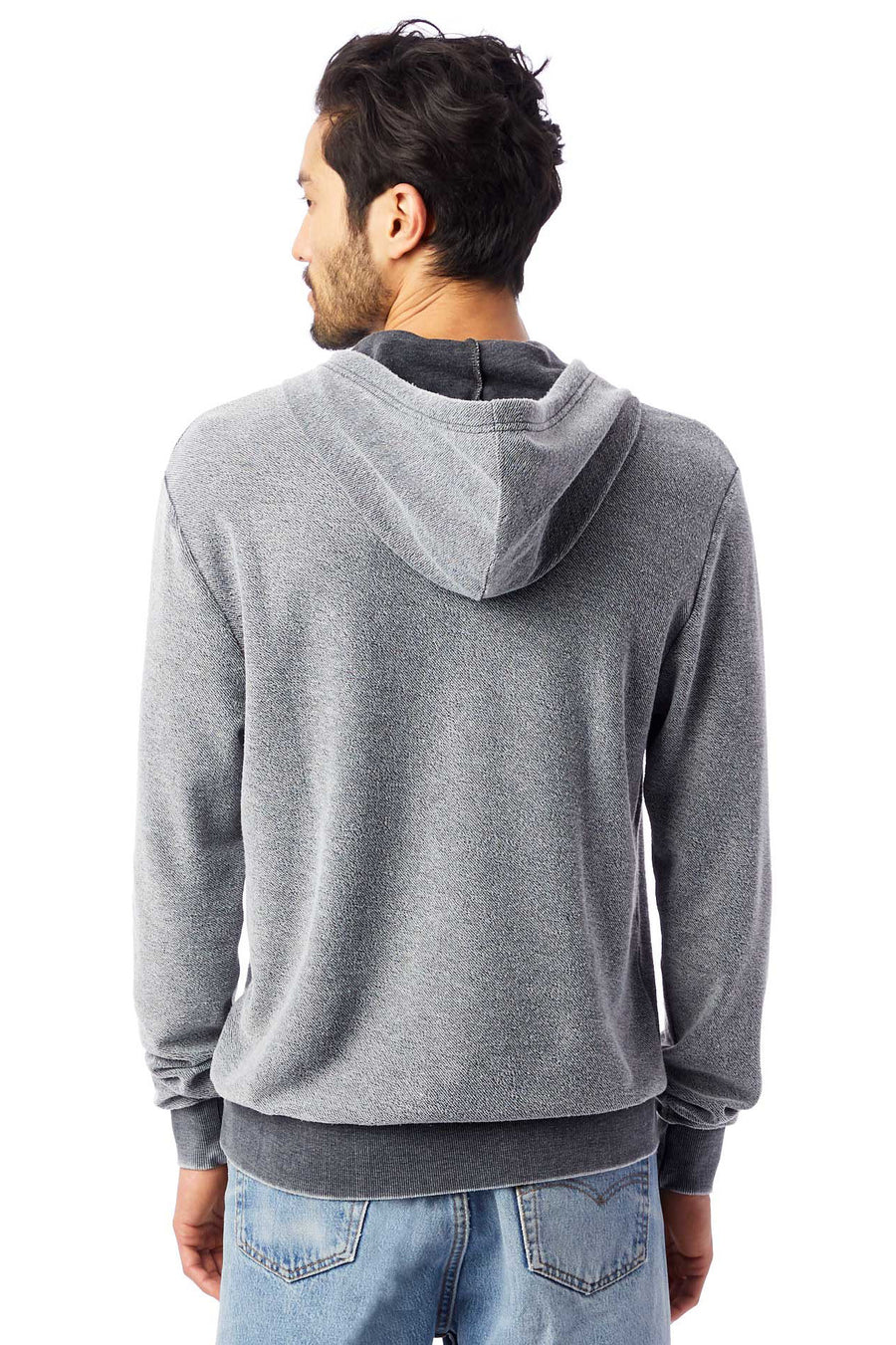 Challenger Loopside Burnout French Terry Pullover - Washed Black - Pavilion