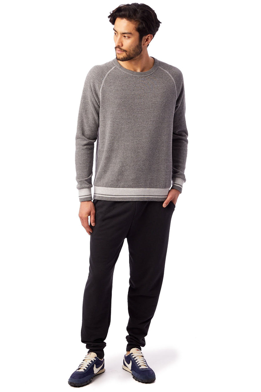 Champ Eco-Fleece Ivy League Sweatshirt - Eco Grey - Pavilion
