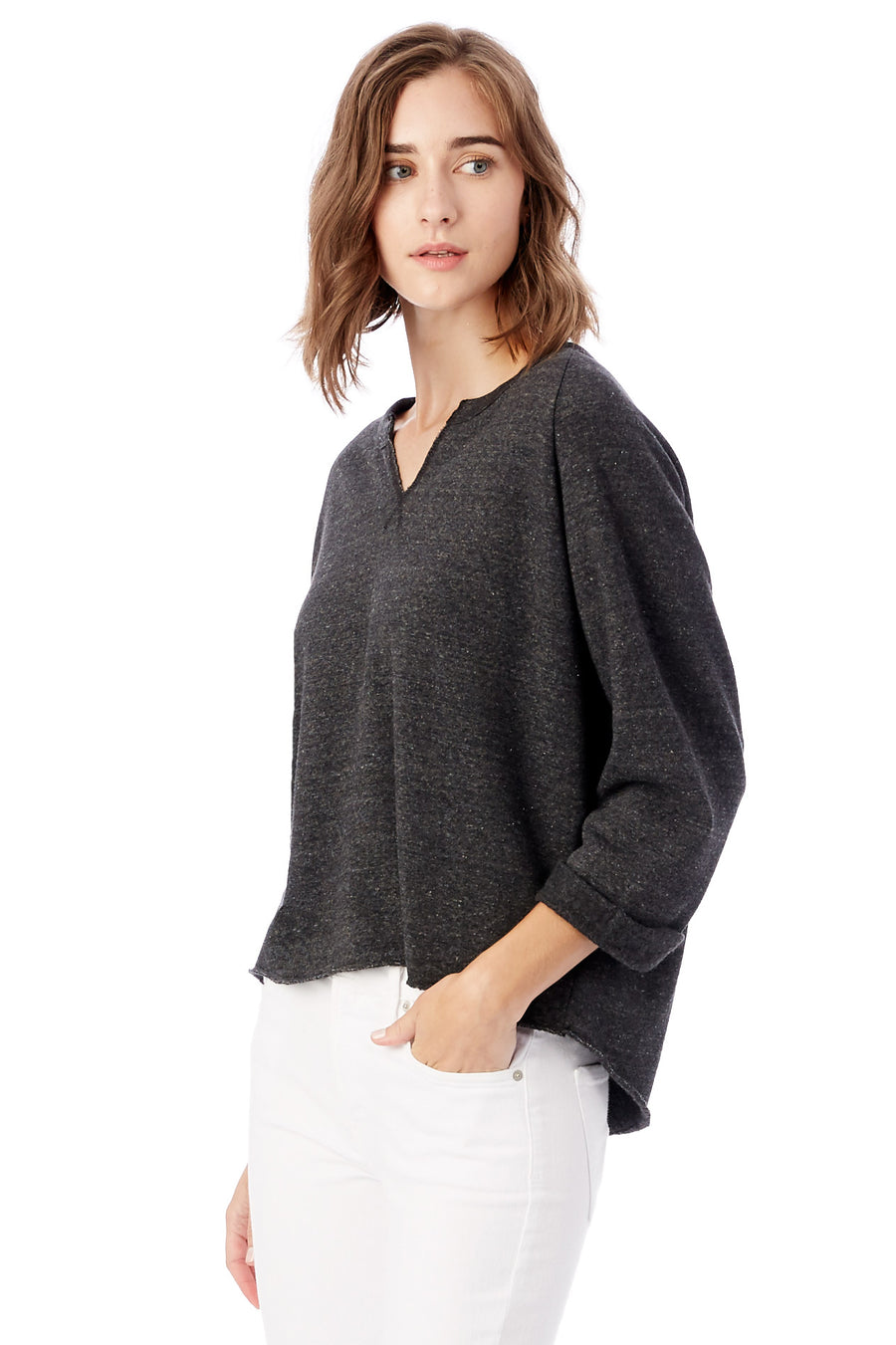 The Champ Remix Eco-Fleece Sweatshirt - Eco Black - Pavilion
