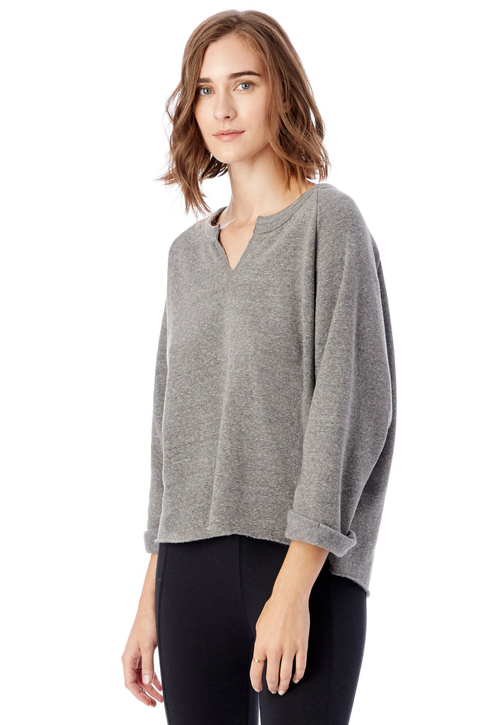 The Champ Remix Eco-Fleece Sweatshirt - Eco Grey - Pavilion