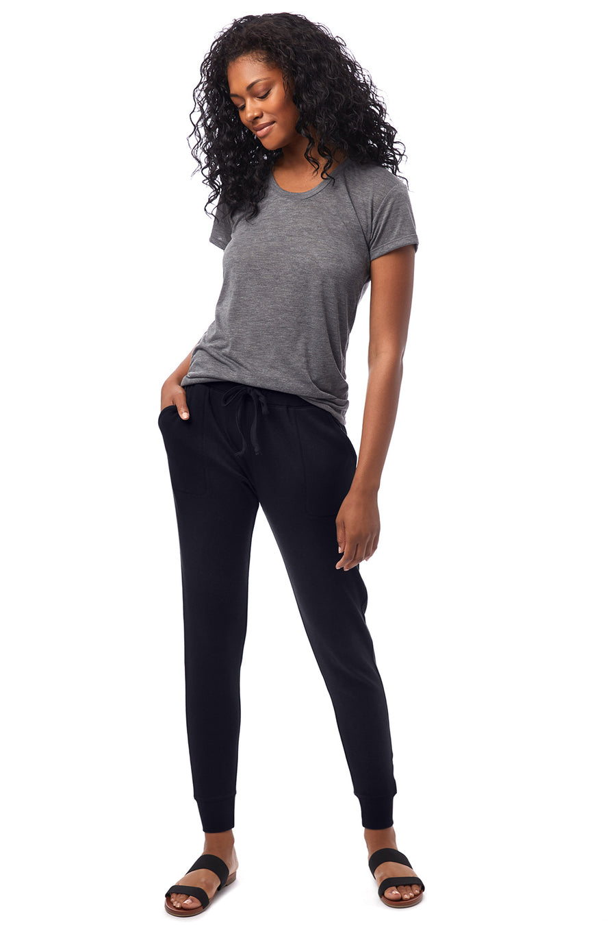 Modal Interlock Joggers - Black - Pavilion