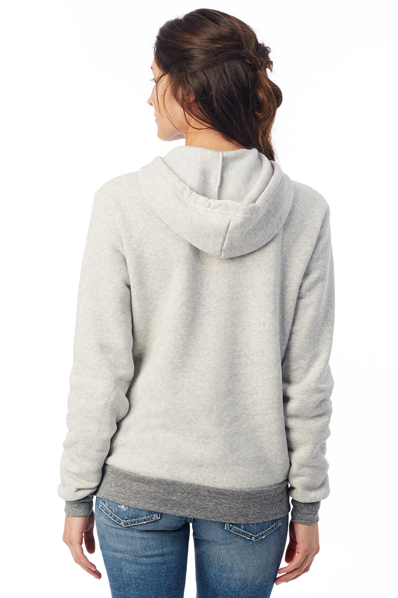 Challenger Eco-Fleece Pullover Hoodie - Eco Light Grey/Eco Grey