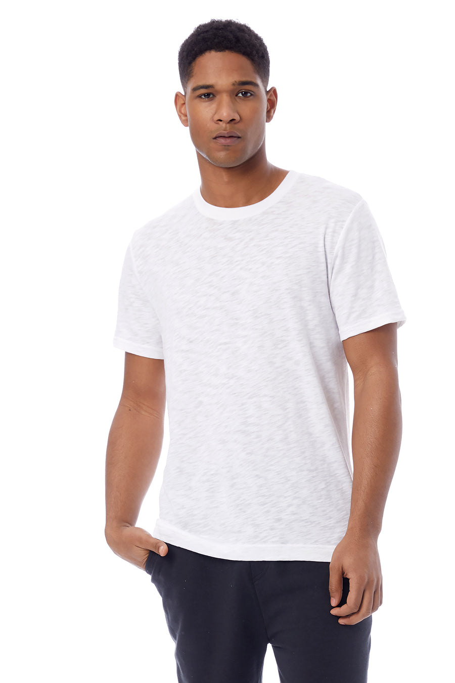Fillmore Organic Cotton Slub T-Shirt - White