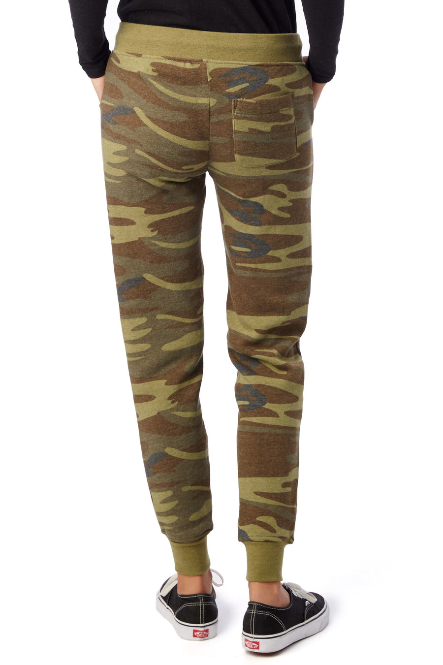 Women's Printed Eco-Fleece Camo Jogger - Pavilion