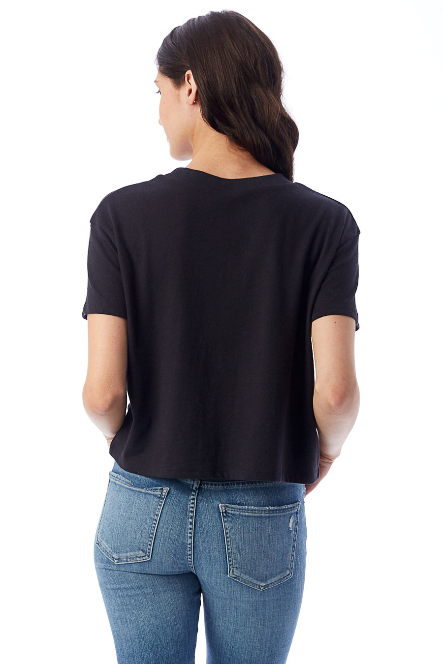 Headliner Cropped T-Shirt - Black - Pavilion