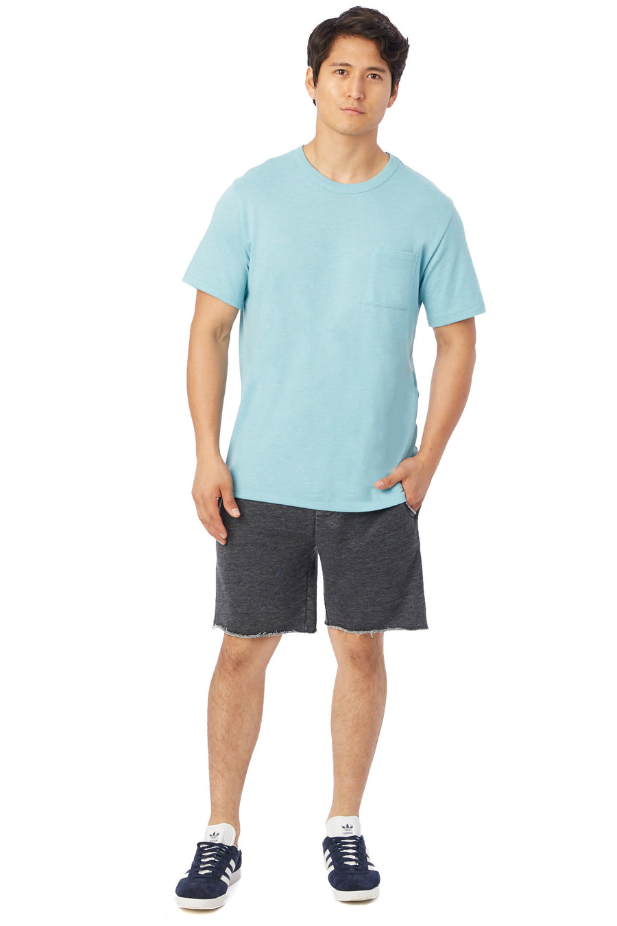 Keeper Vintage Jersey Pocket T-Shirt - Sea Breeze