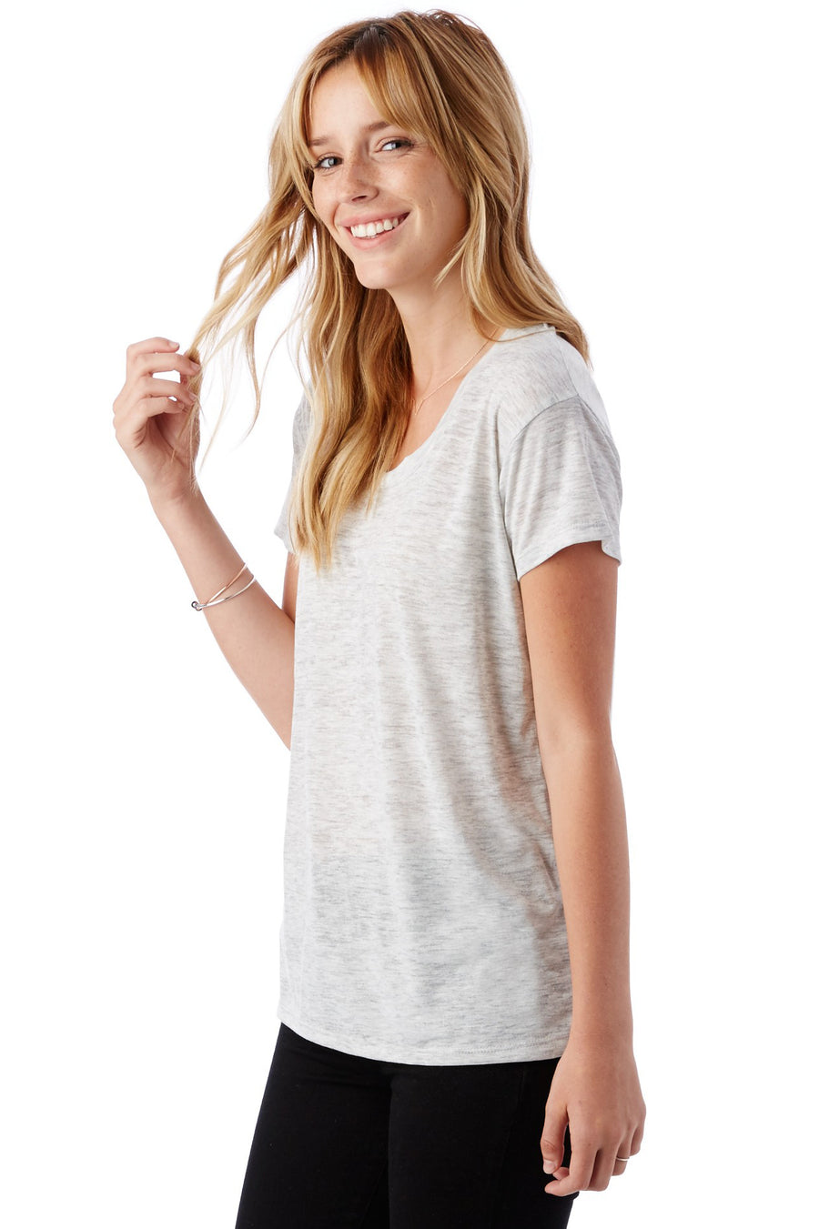 Kimber Tee - Oatmeal Heather