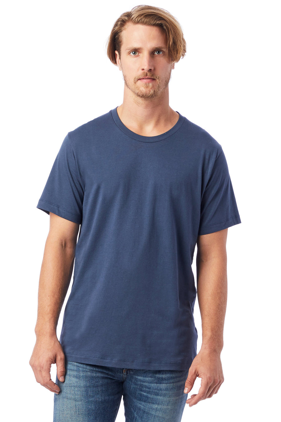 Mens Go-To T-Shirt - Light Navy - Pavilion