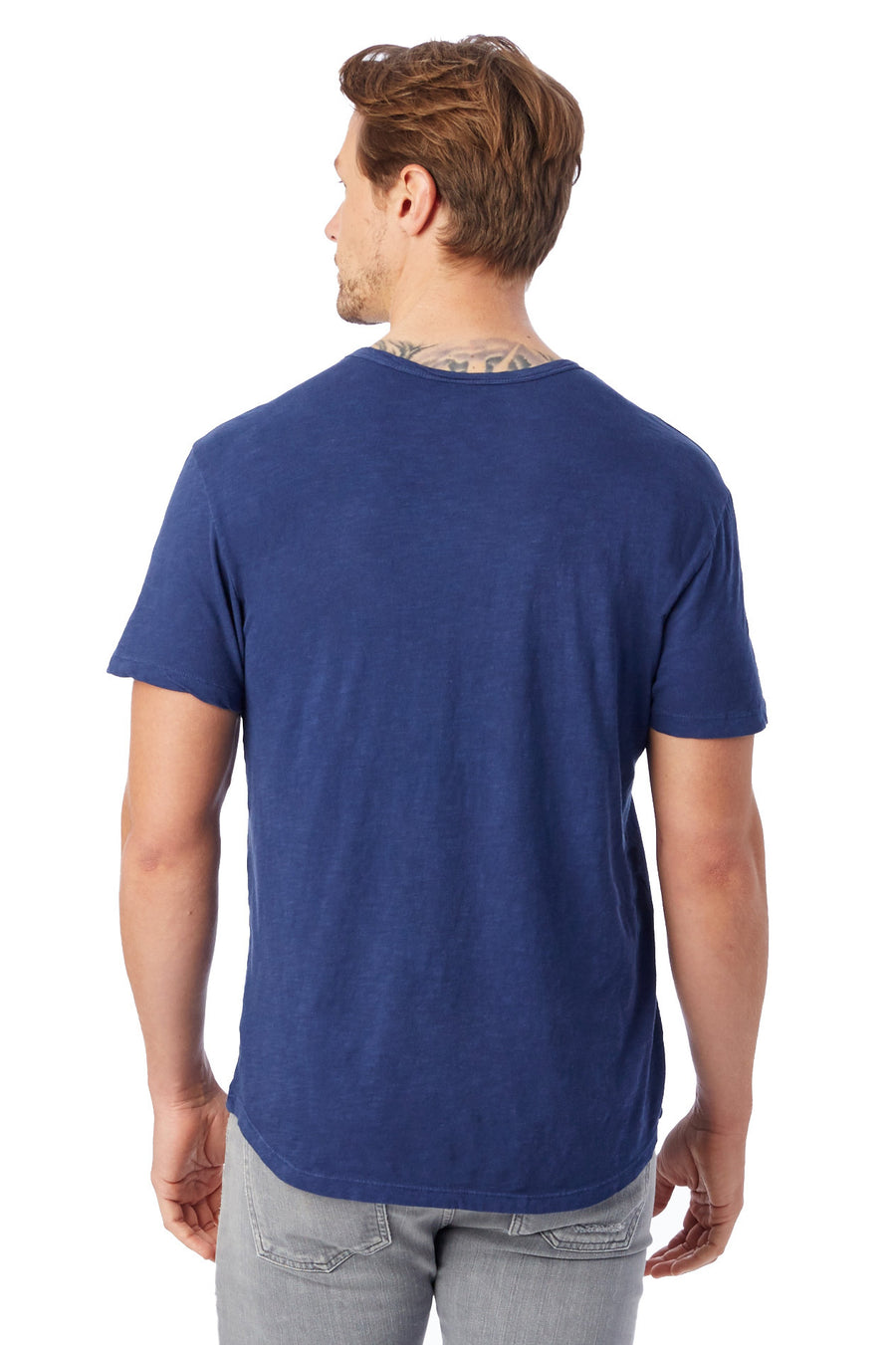 Postgame Washed Slub Crew T-Shirt - Midnight - Pavilion