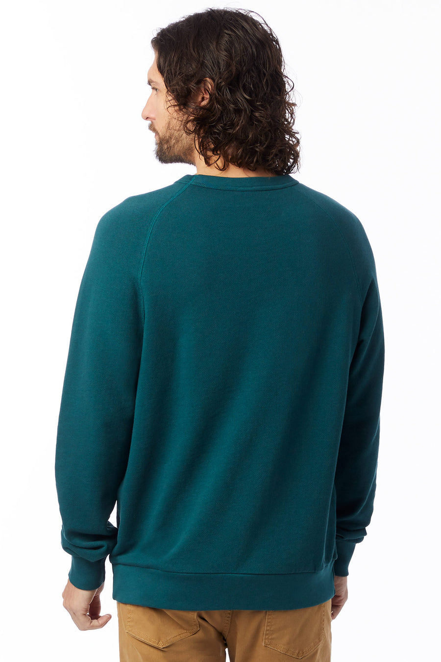 Washed Terry Champ - Dark Teal