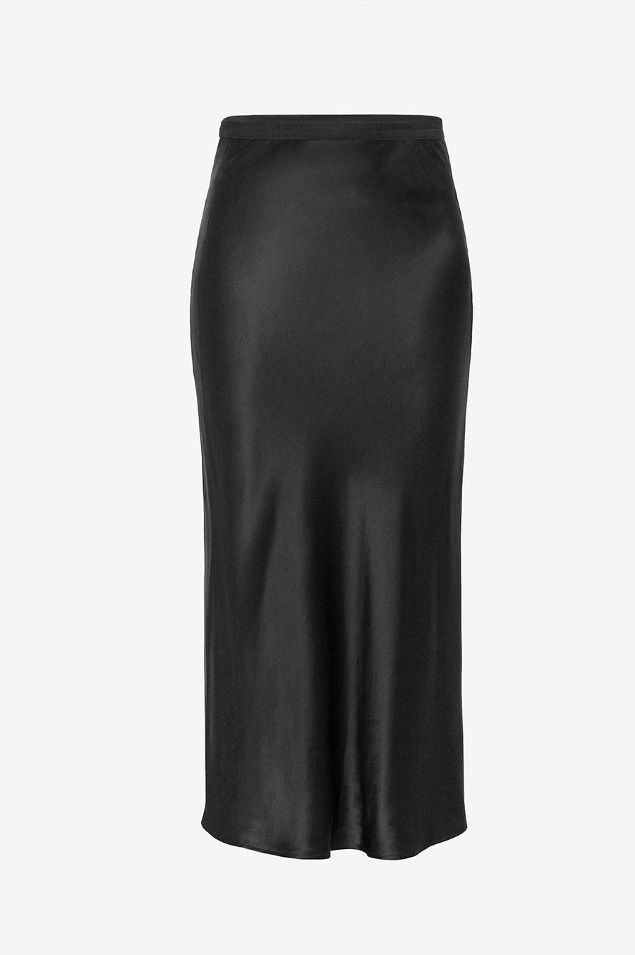 Bar Silk Skirt - Black - Pavilion