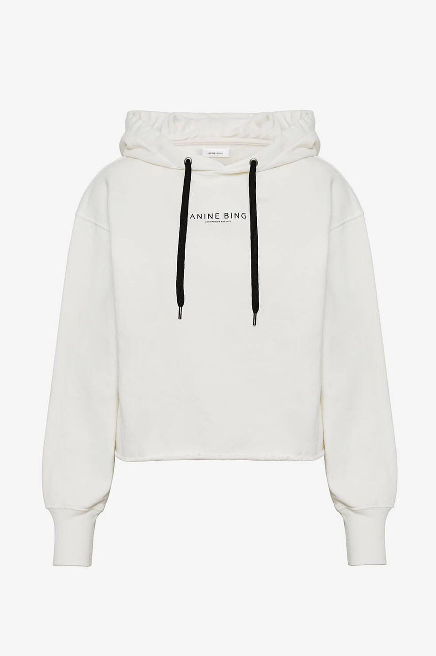 Jamie Hooded Sweatshirt - White