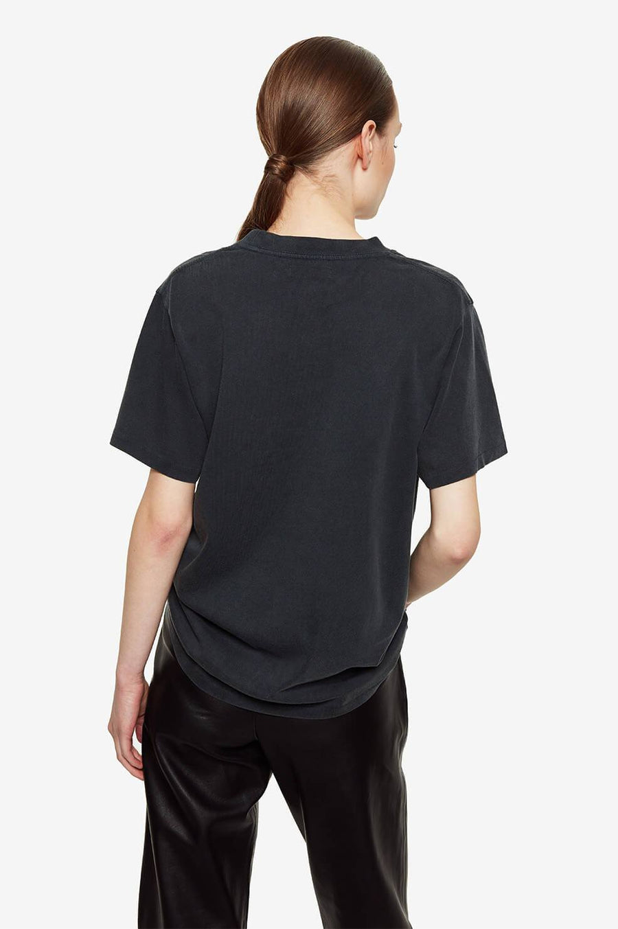 Lili Retro Bing Tee - Washed Black