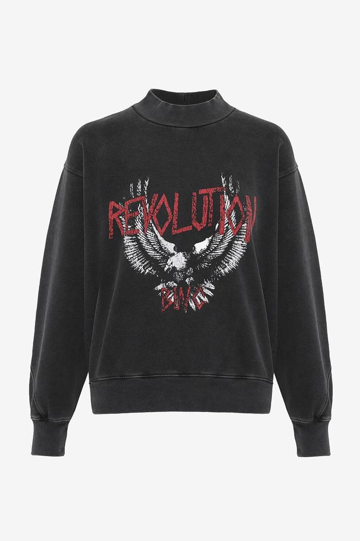 Saint Sweatshirt Revolution - Washed Black - Pavilion