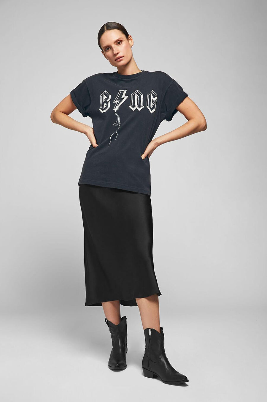 Bing Bolt Tee - Black - Pavilion