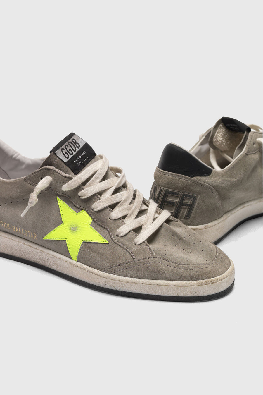 Ball Star - Waxed Ice Suede Yellow Star