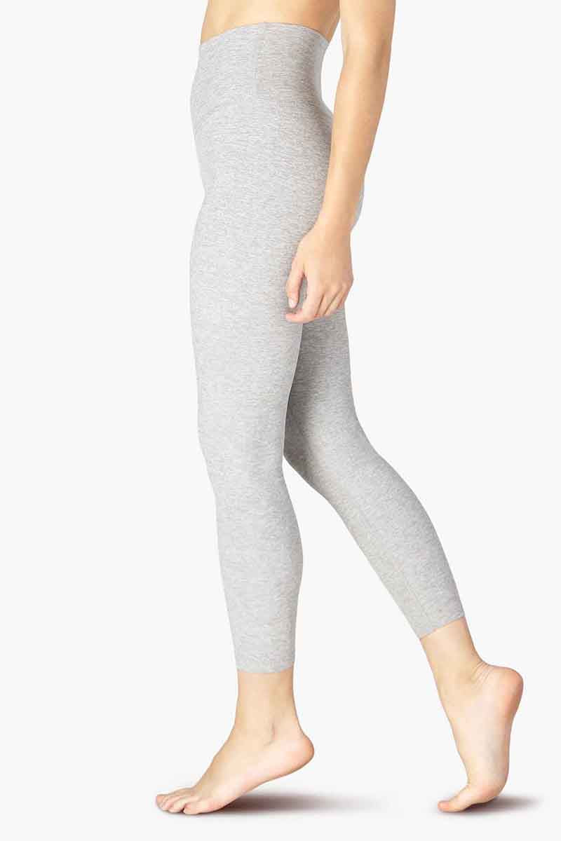 Spacedye Caught In The Midi High Waisted Legging - Silver Mist