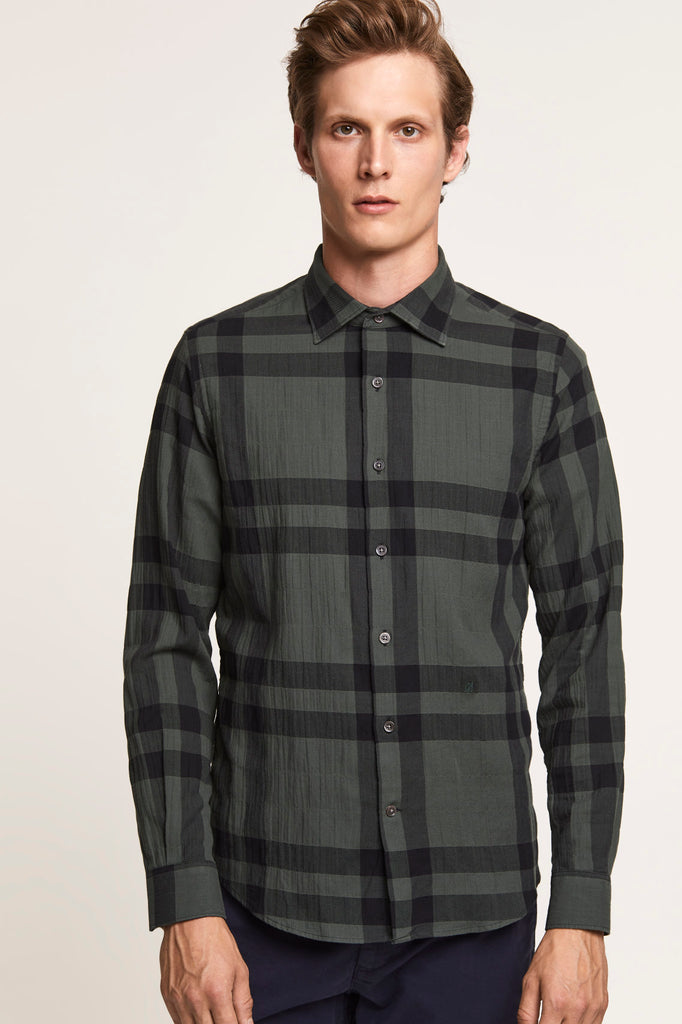 Checked Shirt - Olive Nights - Pavilion