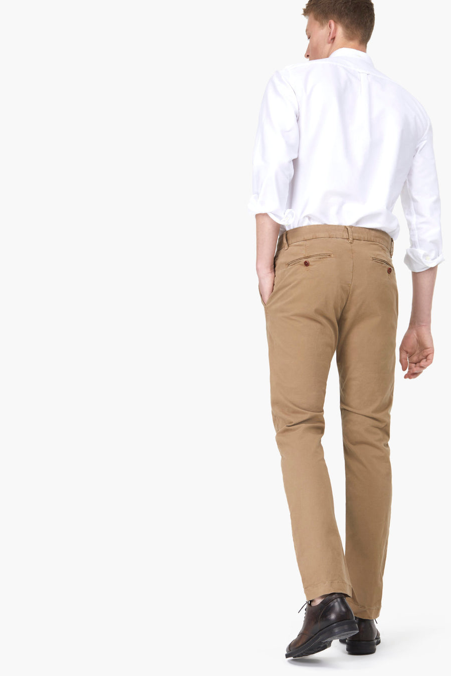 Clifton Slim Brushed Chino - Pavilion
