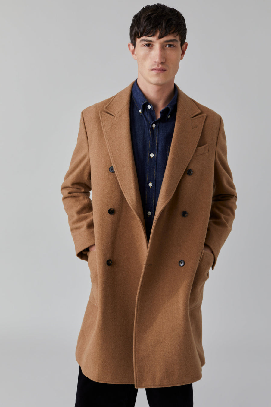 Wool Coat - Deep Dune - Pavilion