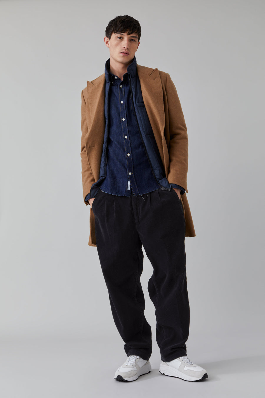 Wool Coat - Deep Dune