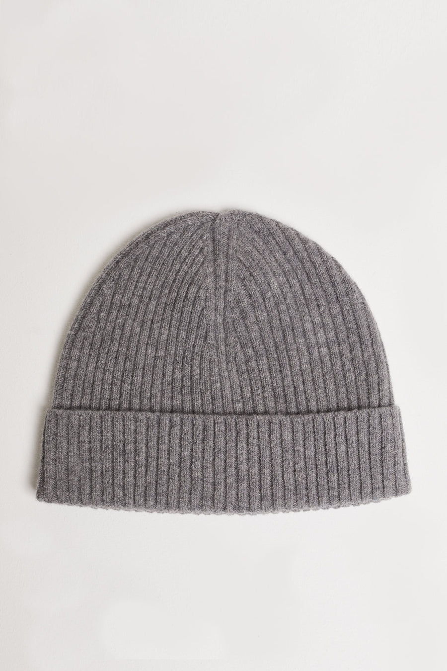 Wool Hat - Grey Heather Melange