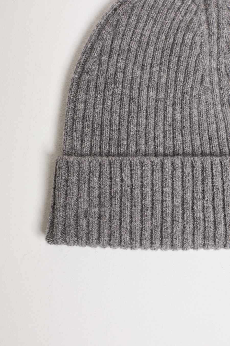 Wool Hat - Grey Heather Melange - Pavilion