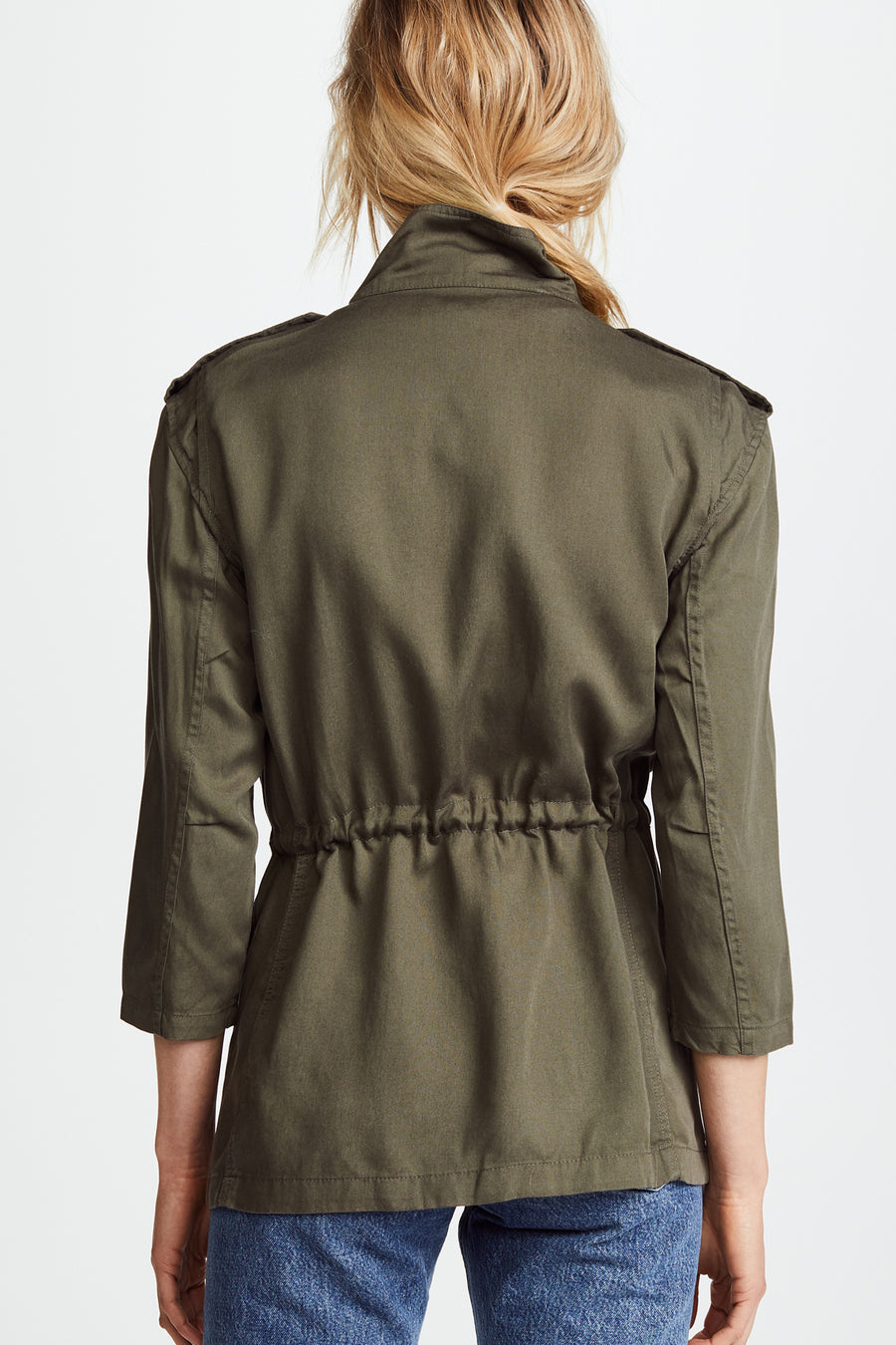 Beekman Military Jacket - Green - Pavilion